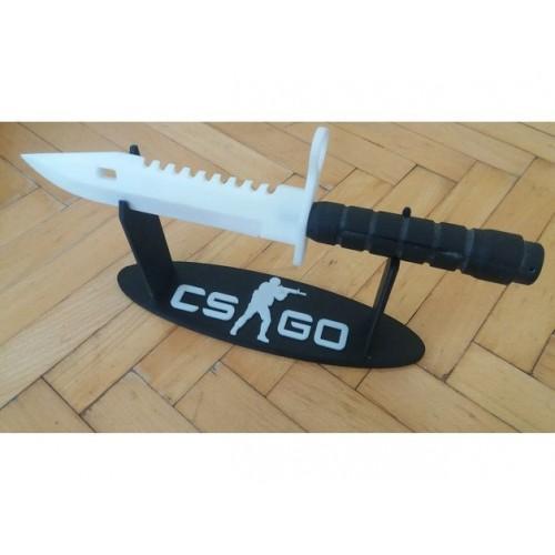 3D CS:GO M9 Bayonet 30 Cm Uzunluk Gerçek Boyut