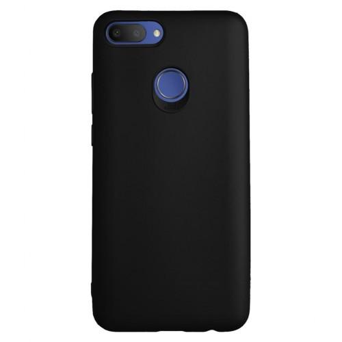 Alcatel 1S (5024) Premium Simple Silikon Arka Kapak Siyah