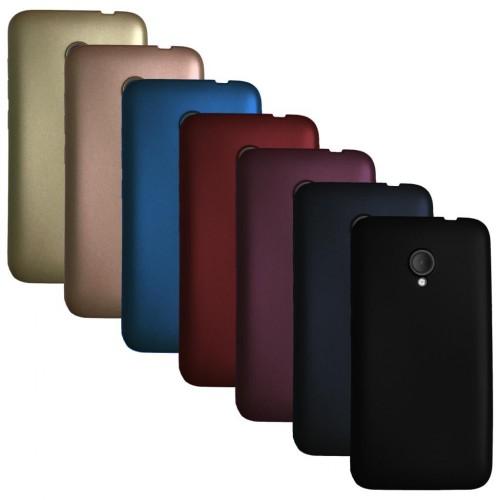 Alcatel U5 - Premium Simple Silikon Arka Kapak / Kılıf