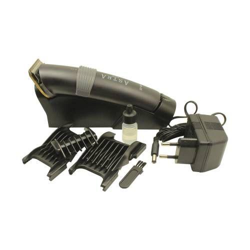 Astra Lux Profesyonel Şarjlı Standlı Saç Sakal Ense Traş Makinesi