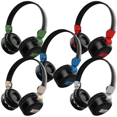 Auris Kafa Bantlı Extra Bass Bluetooth Kulaklık ARS-BT02