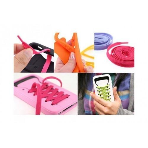 Bağcıklı iPhone Kılıfı iShoe Asorti
