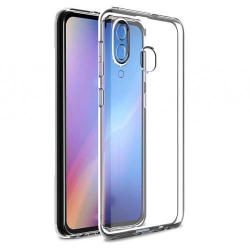 Huawei P Smart 2019 Tıpalı Kamera Korumalı Silikon Kapak Şeffaf