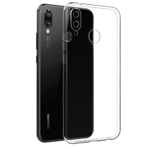 Baseus Huawei P20 Lite Tıpalı Kamera Korumalı Silikon Kapak Şeffaf