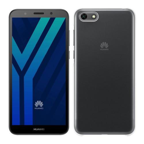Baseus Huawei Y5 2018 Tıpalı Kamera Korumalı Silikon Kapak Şeffaf