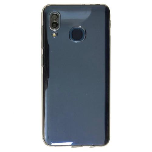 Huawei Y7 Pro 2019 - Tıpalı Kamera Korumalı Silikon Şeffaf
