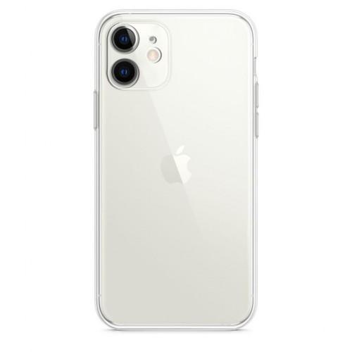 Baseus iPhone 11 - Tıpalı Kamera Korumalı Silikon Kapak Şeffaf