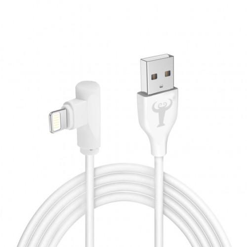 BsBeste Lightning Hızlı Şarj ve Data Kablo 3.1A 120cm T3 Beyaz