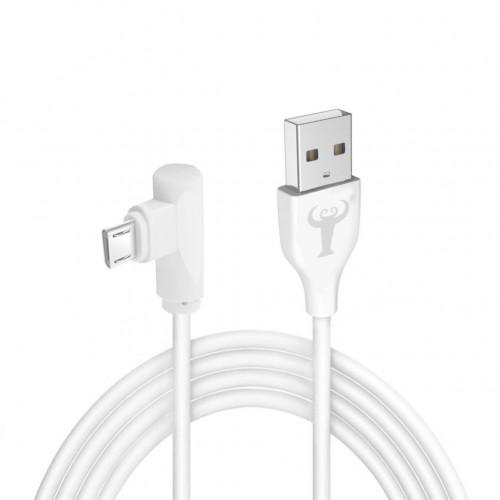 BsBeste Micro Usb Hızlı Şarj ve Data Kablo 3.1A 120cm T3 Beyaz