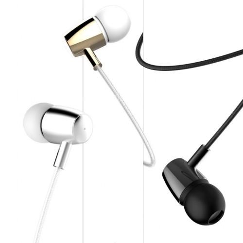 BsBeste Mikrofonlu Kulakiçi Stereo Örgü Kulaklık 3.5mm Q1A