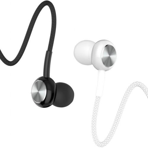 BsBeste Mikrofonlu Kulakiçi Stereo Örgü Kulaklık 3.5mm Q40