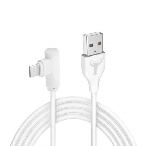 BsBeste Type-C Hızlı Şarj ve Data Kablo 3.1A 120cm T3 Beyaz