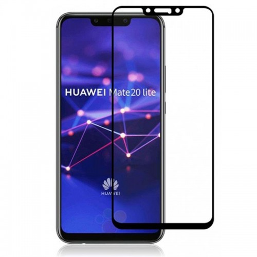 Bufalo Huawei Mate 20 Lite Tam Kapatan NANO Ekran Koruyucu Siyah