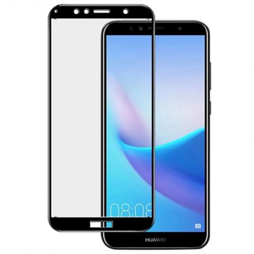 Bufalo Huawei Y6 2018 - 10D NANO Cam Ekran Koruyucu Siyah