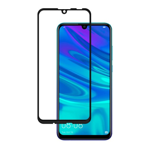 Bufalo Huawei Y6 2019 Kavisli 5D Cam Ekran Koruyucu Siyah