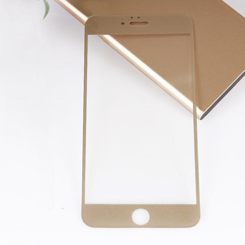 Bufalo iPhone 6-6s Cam Ekran Koruyucu Gold