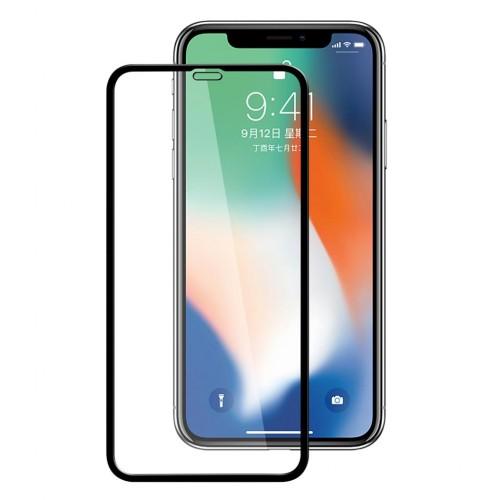 Bufalo iPhone XR Tam Kapatan NANO Ekran Koruyucu Siyah