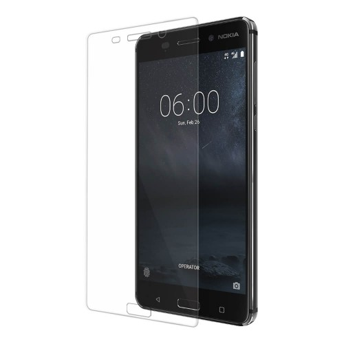 Bufalo Nokia 5 Kavisli 3D Cam Ekran Koruyucu Şeffaf