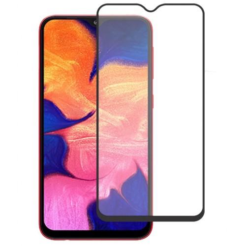 Bufalo Samsung A10 (A105) Kavisli 5D Cam Ekran Koruyucu Siyah