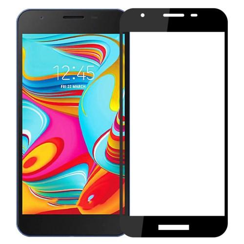 Bufalo Samsung A2 Core (A260) Kavisli 5D Cam Ekran Koruyucu Siyah