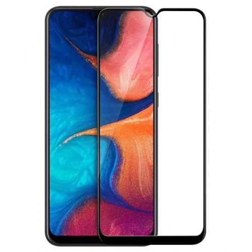 Bufalo Samsung A20 (A205) Tam Kapatan NANO Ekran Koruyucu Siyah