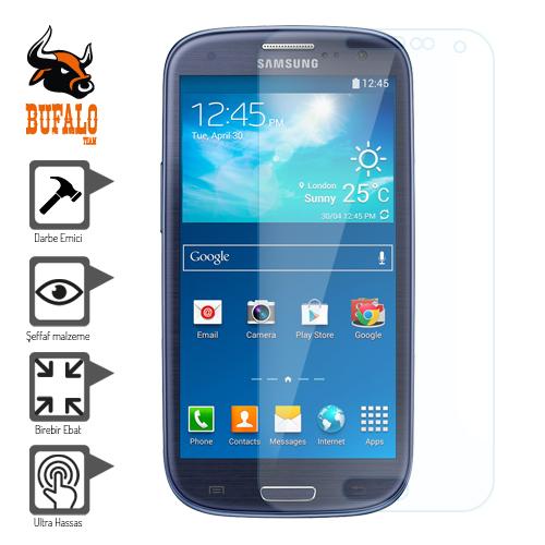 Bufalo Samsung I8190 I8200 Galaxy S3 mini Darbe Emici Ekran Koruyucu