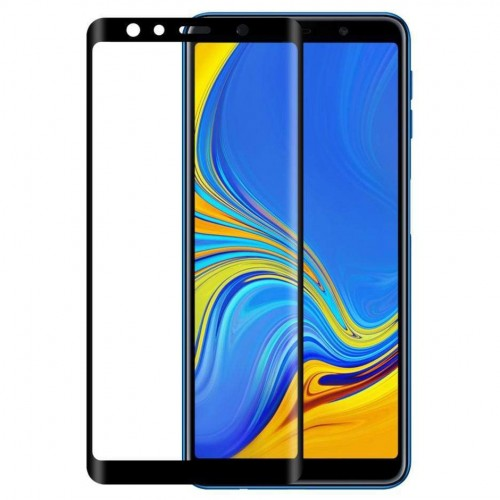Bufalo Samsung J6 Plus (J610) 10D NANO Cam Ekran Koruyucu Siyah