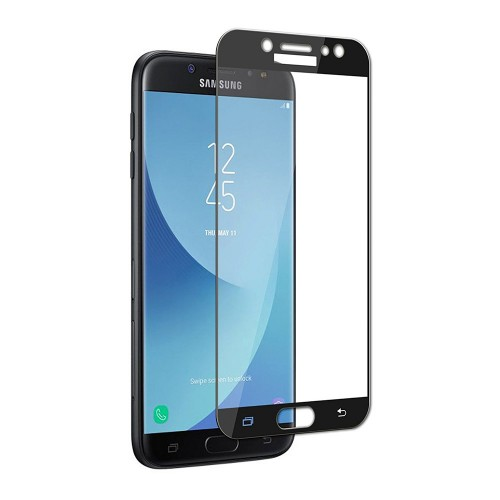 Bufalo Samsung J7 Prime (G610) Tam Kapatan NANO Ekran Koruyucu Siyah