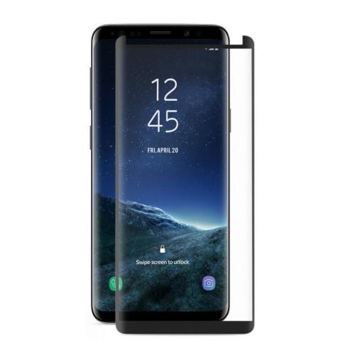Bufalo Samsung Note 9 (N960) Kavisli 4D Cam Ekran Koruyucu Siyah