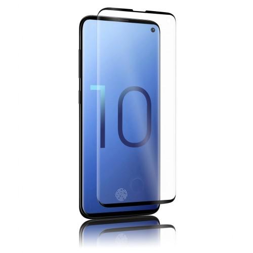 Bufalo Samsung S10E (G970) Kavisli 5D Cam Ekran Koruyucu Siyah