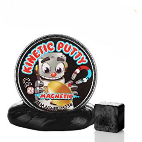 Crazy Kinetic Putty Manyetik Oyun Hamuru ve Mıknatıs Set Asorti