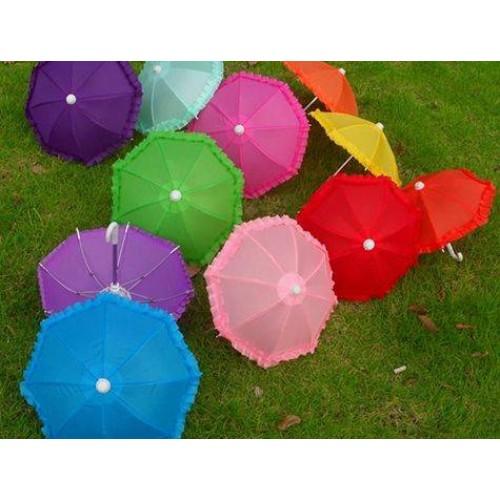 Dekoratif Mini Şemsiye Asorti