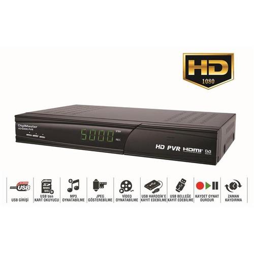 DigiMaster HD-5000 PVR Dijital Uydu Alıcısı