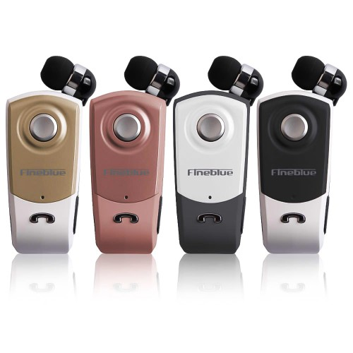 Fineblue F960 Bluetooth Kulaklık Makaralı Yaka Askılı