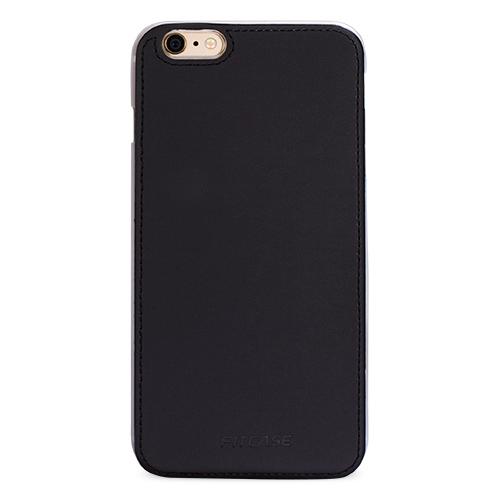 FitCase iPhone 6-6s Plus Shield Dikişli Arka Kapak Siyah