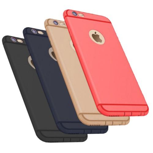 FitCase iPhone 6 - 6s Toz Koruma Tıpalı Silikon Kapak-Kılıf