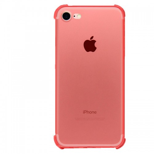 FitCase iPhone 7-8 Rugged Silikon Arka Kapak Pembe