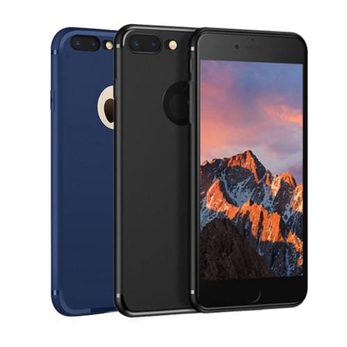 FitCase iPhone 7 Plus / 8 Plus Toz Koruma Tıpalı Silikon Kapak-Kılıf