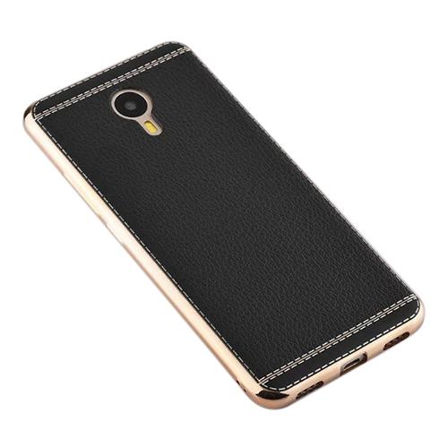 FitCase Laser Elegant GM Android One 4G Silikon Arka Kapak Siyah