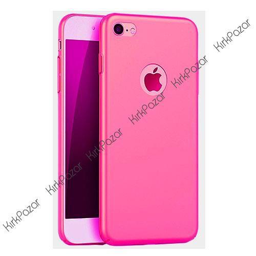Fitcase Rubber iPhone 6 | 6S Plus Arka Kapak Pembe