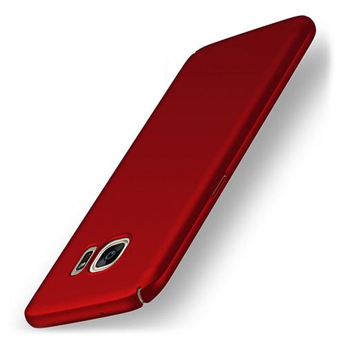 UltraFit Rubber Samsung S7 Edge Arka Kapak Kırmızı