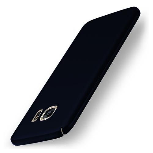UltraFit Rubber Samsung S7 Edge Arka Kapak Lacivert