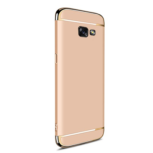 UltraFit Samsung A7 2017 A720 Golden Frame Arka Kapak