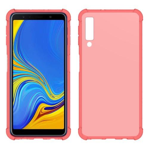 FitCase Samsung A7 2018 (A750) Rugged Silikon Arka Kapak Pembe