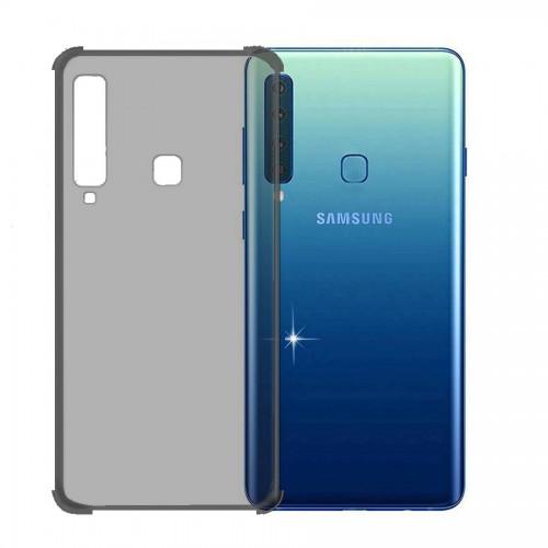 FitCase Samsung A9 2018 (A920) Rugged Silikon Arka Kapak Siyah