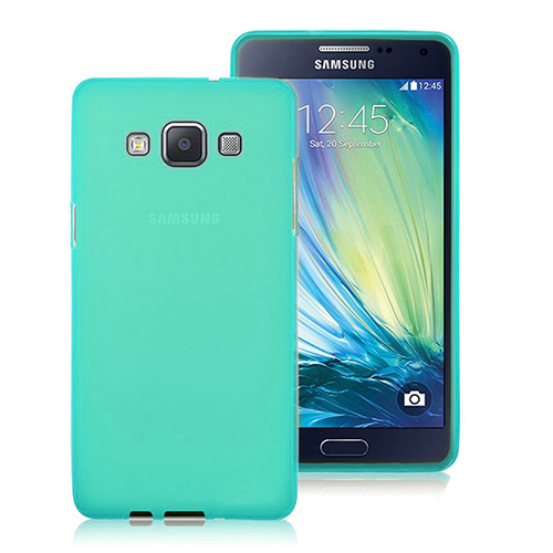 FitCase Samsung Galaxy A3 (A300) Ultra İnce TPU Arka Kapak Yeşil