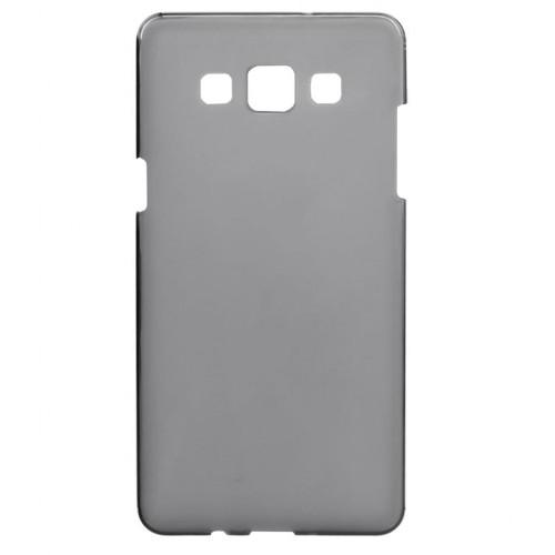 FitCase Samsung Galaxy E7 (E700) Metal TPU Arka Kapak Gri