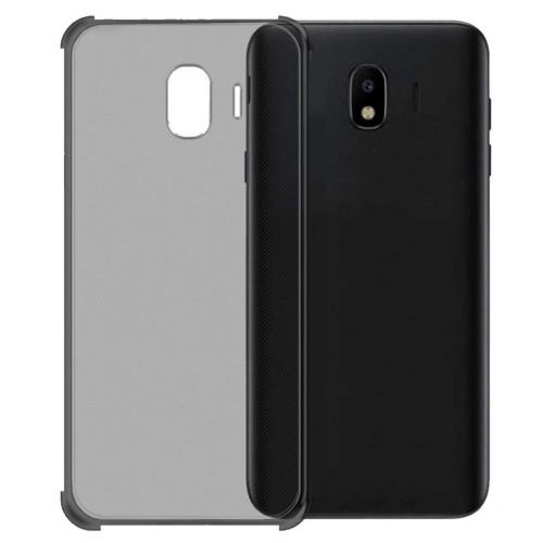 FitCase Samsung J2 Core (J260) Rugged Silikon Arka Kapak Siyah