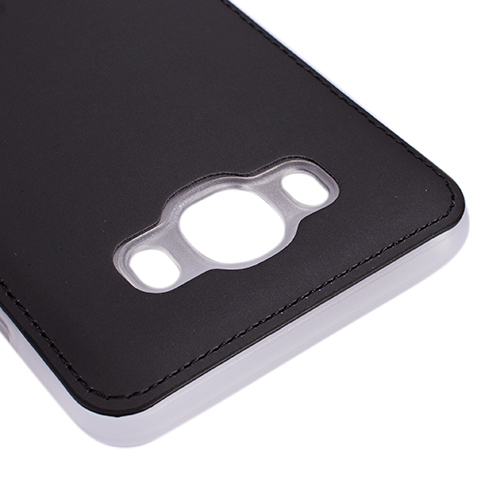 FitCase Samsung J5 2016 (J510) Shield Dikişli Arka Kapak Siyah