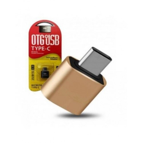 USB 3 to Type-C Giriş Çevirici OTG Flash Drive Gold